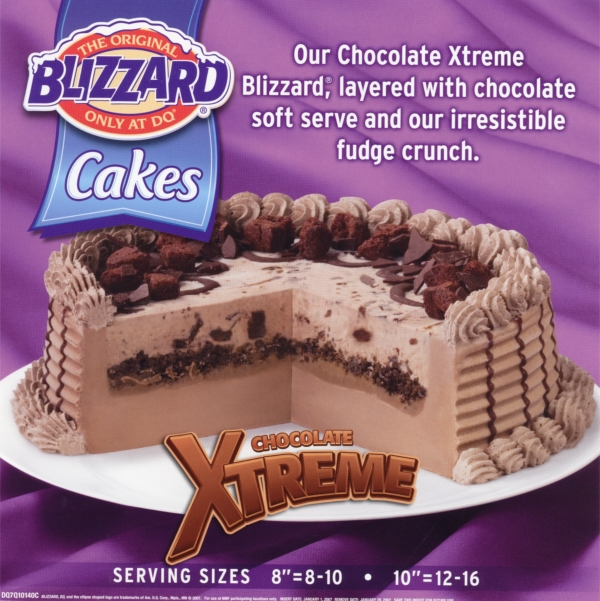 Maple Ridge Dump >> blizzard cake sizes